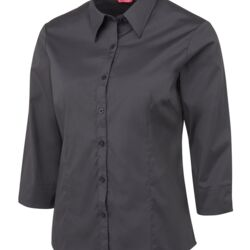 Ladies Urban 3/4 Poplin Shirt Thumbnail