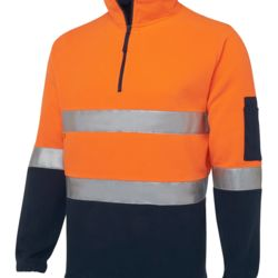 Hi Vis (D+N) 1/2 Zip Polar Fleece Thumbnail