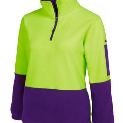 HV Ladies 1/2 Zip Polar Thumbnail